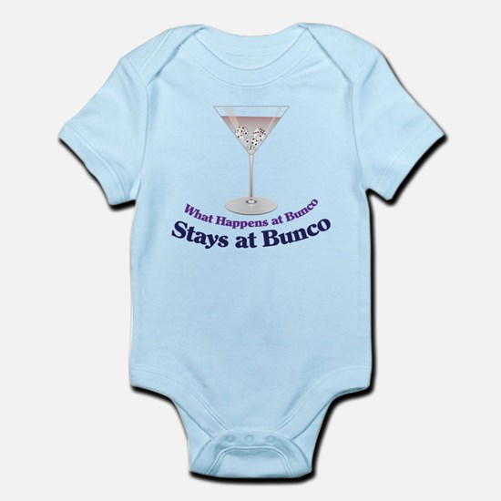 What Happens at Bunco Infant Bodysuit