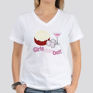 Girls Night Out Women's V-Neck T-Shirt