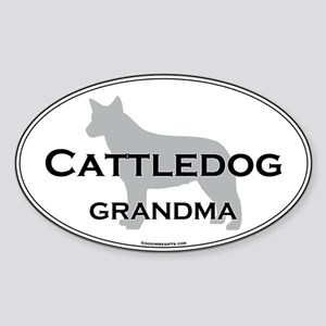 ACD GRANDMA Oval Sticker