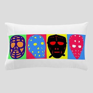 Vintage Hockey Goalie Masks Pillow Case