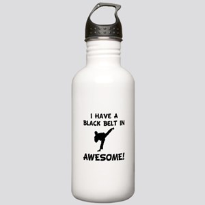 Black Belt Awesome Stainless Water Bottle 1.0L