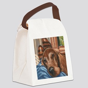 boys n boots Irish Setter Canvas Lunch Bag