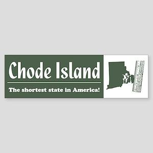 Chode Island Bumper Sticker