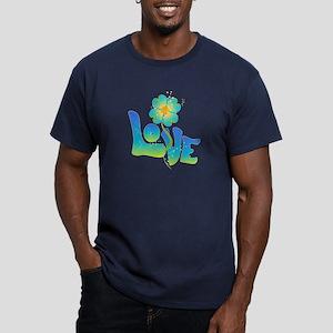 Max Love Men's Fitted T-Shirt (dark)