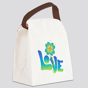 Max Love Canvas Lunch Bag