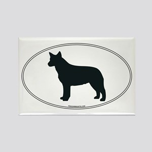 ACD Silhouette Rectangle Magnet