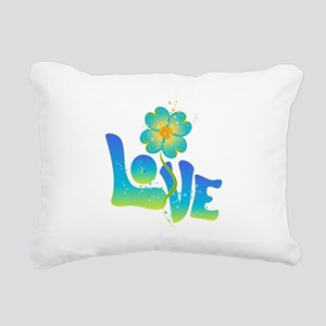 Max Love Rectangular Canvas Pillow