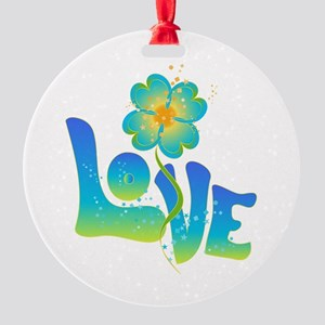 Max Love Round Ornament