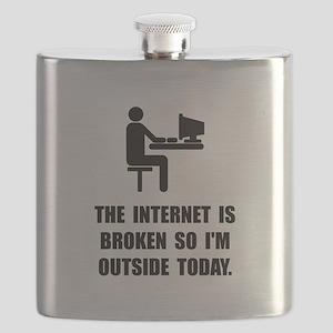 Broken Internet Outside Flask