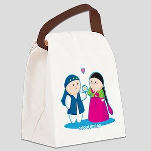 Seoul Mates Canvas Lunch Bag