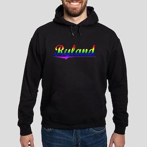 Ryland, Rainbow, Hoodie (dark)