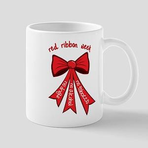 Red Ribbon Week Mug