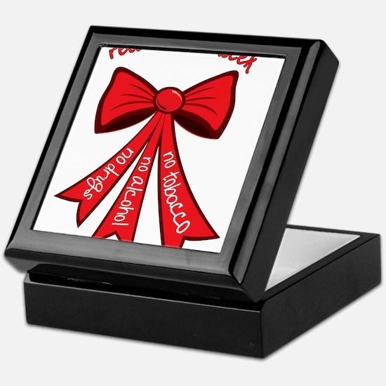 Red Ribbon Week Keepsake Box