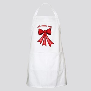 Red Ribbon Week Apron