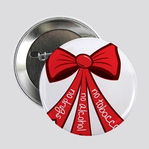 "Red Ribbon Week 2.25"" Button"