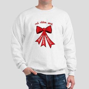 Red Ribbon Week Sweatshirt