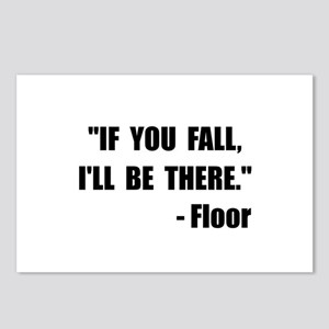 Fall Floor Quote Postcards (Package of 8)