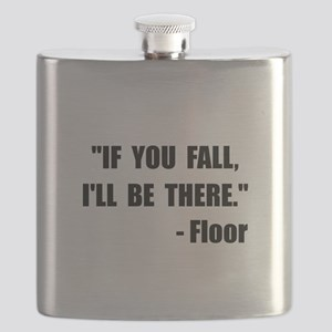 Fall Floor Quote Flask
