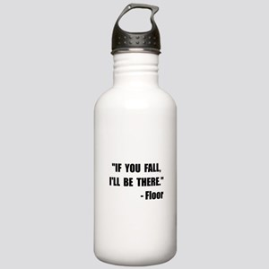 Fall Floor Quote Stainless Water Bottle 1.0L