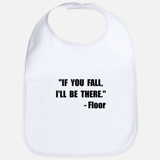 Fall Floor Quote Bib