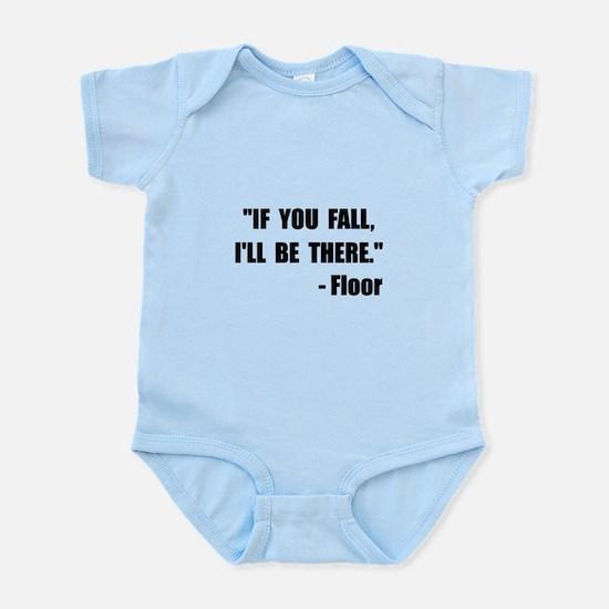 Fall Floor Quote Infant Bodysuit