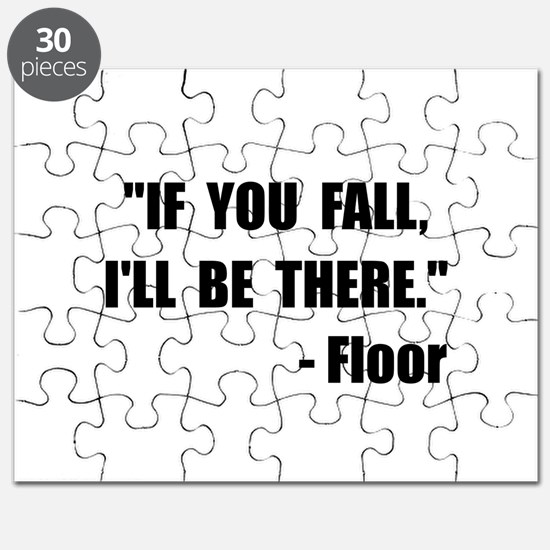 Fall Floor Quote Puzzle