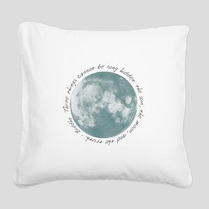 Buddha-Moon Square Canvas Pillow