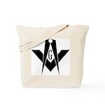 Masonic Bold & Black S&C Tote Bag