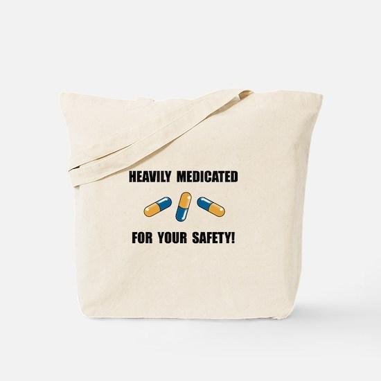 Heavily Medicated Tote Bag