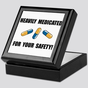 Heavily Medicated Keepsake Box
