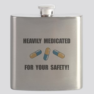 Heavily Medicated Flask