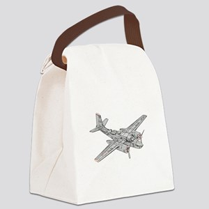 Douglas B-26 Invader -Colored Canvas Lunch Bag