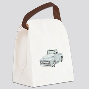 1956 Ford Truck in blue Canvas Lunch Bag