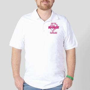breast cancer awareness Golf Shirt