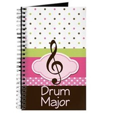 Drum Major Music Notebook Gift Journal