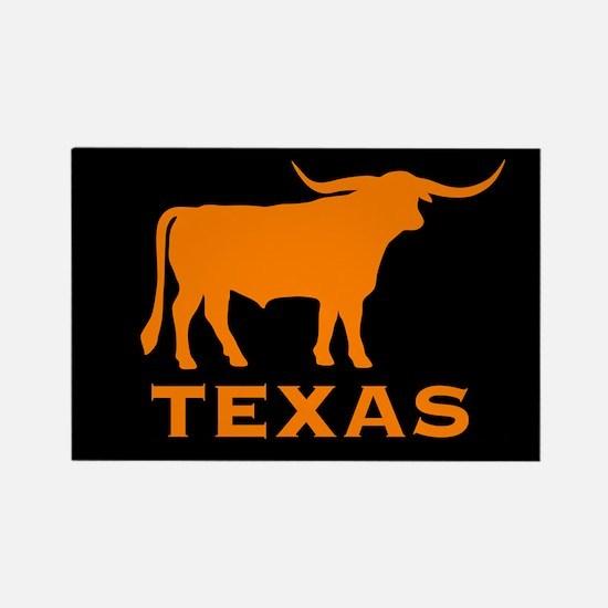 Texas Rectangle Magnet