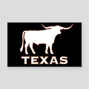 Texas Rectangle Car Magnet