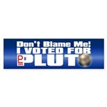 DON'T BLAME ME! Bumper Sticker