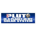 MY SOLAR SYSTEM Bumper Sticker