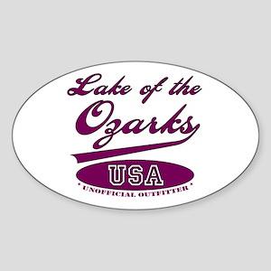 Lake of the Ozarks Oval Sticker