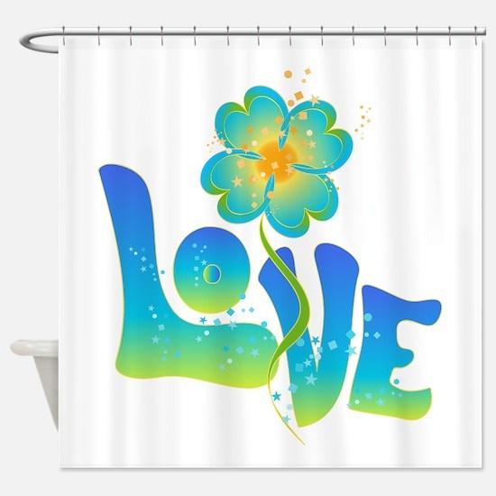 Max Love Shower Curtain