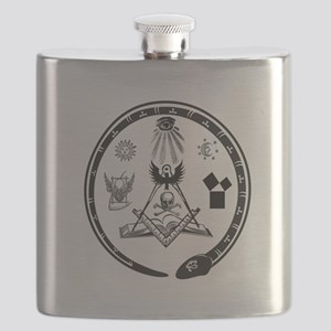 Masonic Logo Flask
