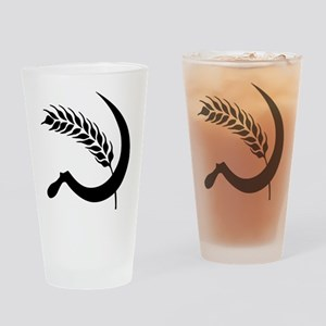 I Hate Wheat Drinking Glass