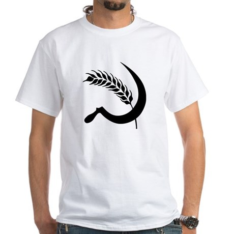 I Hate Wheat White T-Shirt