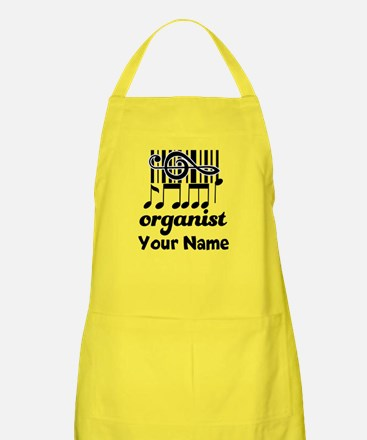 Personalized Organist Apron