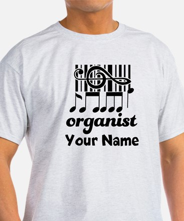 Personalized Organist T-Shirt