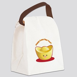 Gold Ingot Canvas Lunch Bag
