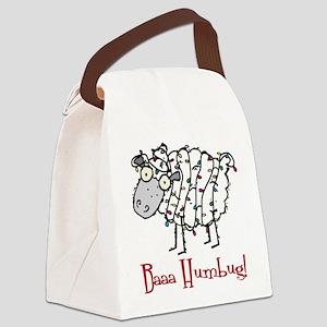 Baaa Humbug Sheep Canvas Lunch Bag