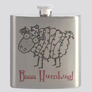 Baaa Humbug Sheep Flask