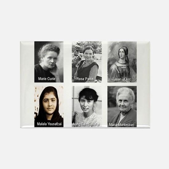Well-Behaved Women Seldom Make History Rectangle M